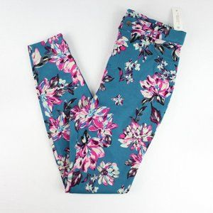 Time and Tru Fashion Jeggings Size M Floral